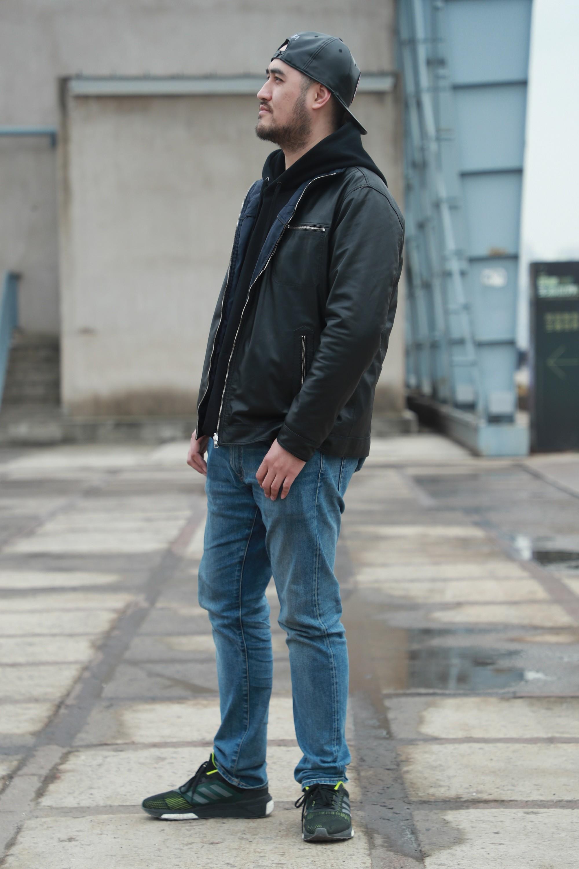 美國設計師品牌Crowne Comforteur 超輕量羊皮兩面穿休閒男性皮衣
